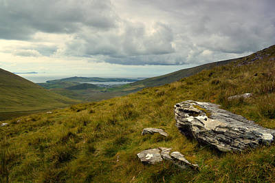 Conor Photograph - View From Conor Pass. by Terence Davis