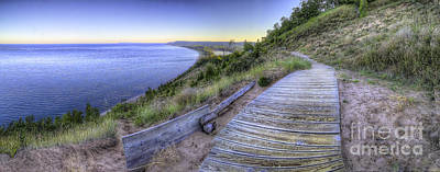 View From Empire Bluff Print by Twenty Two North Photography