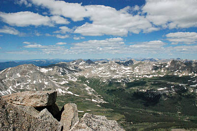 Mt Harvard Photograph - View From Mt. Harvard by Bob Linhart