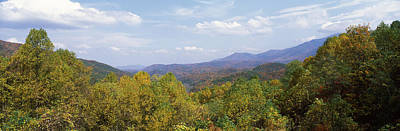 View From River Road, Great Smoky Print by Panoramic Images