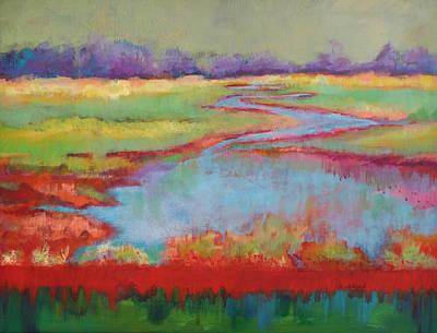 View From The Bridge Print by Carol Jo Smidt