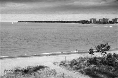 Lighthouse Photograph - View From The Fort Gratiot Light House by LeeAnn McLaneGoetz McLaneGoetzStudioLLCcom