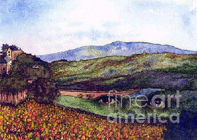 View From The Hill Original by Karen Wheeler