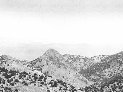 Lodes Photograph - View From Virginia City Nevada by Frank Wilson