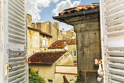 View In Cognac Print by Elena Elisseeva