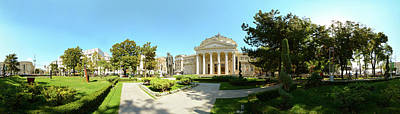 Romania Photograph - View Of A Concert Hall, Romanian by Panoramic Images