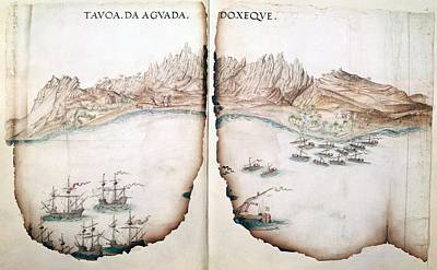 View Of Aguada Print by British Library