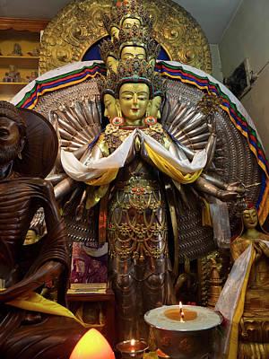 Bodhisattva Photograph - View Of Avalokiteshvara Bodhisattva by Panoramic Images
