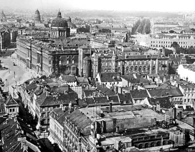 Print featuring the photograph View Of Berlin Germany 1903 Vintage Photograph by A Gurmankin