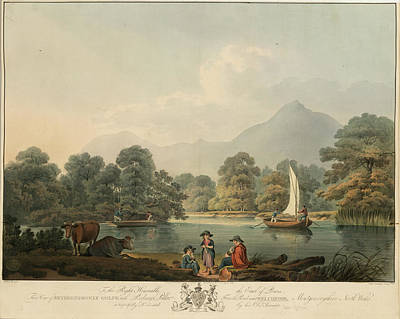 Land Feature Photograph - View Of Brydden And Moely Golfe by British Library