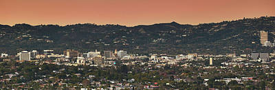 Beverly Hills Photograph - View Of Buildings In City, Beverly by Panoramic Images