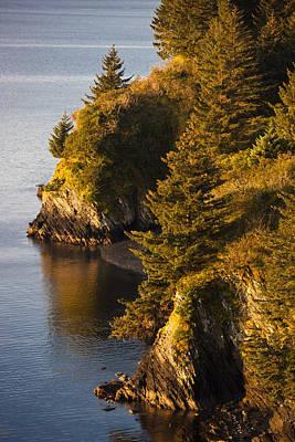 View Of Chiniak Bay, Kodiak Island Print by Kevin Smith