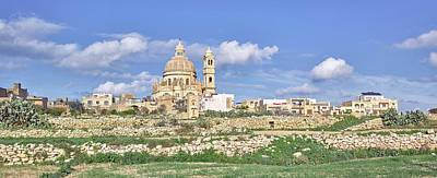 Rotunda Photograph - View Of Church In A Town, Rotunda by Panoramic Images
