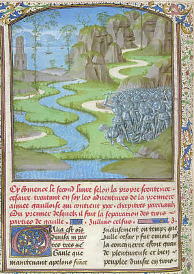 View Of Gaul Print by British Library