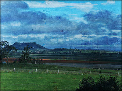 Trees Photograph - View Of Gowrie Mountain by Therese Alcorn