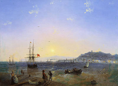 Aivazovsky Painting - View Of Kerch by Ivan Konstantinovich Aivazovsky