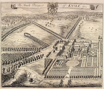 View Of Knole Print by British Library