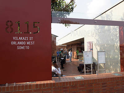 Mandela Photograph - View Of Mandela House, Soweto by Panoramic Images