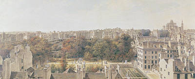 View Of Paris Print by Louis-Nicolas de Lespinasse