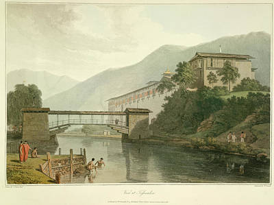 View Of Tassisudon Print by British Library