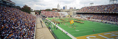 Marching Band Photograph - View Of The Bobby Dodd Stadium by Panoramic Images