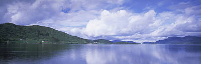 Landscape In Norway Photograph - View Of The Kvernesfjorden by Panoramic Images