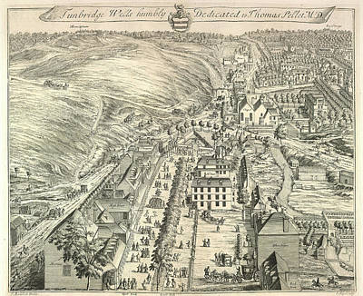 View Of Tunbridge Wells Print by British Library