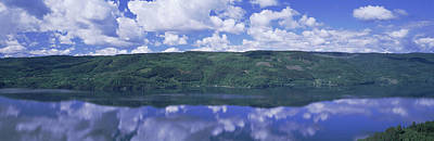 Landscape In Norway Photograph - View Of Tyrifjorden, Honefoss, Norway by Panoramic Images