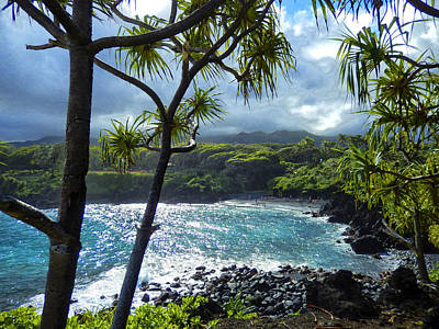 Haleiwa Photograph - View Of Wai'anapanapa by Stacy Vosberg