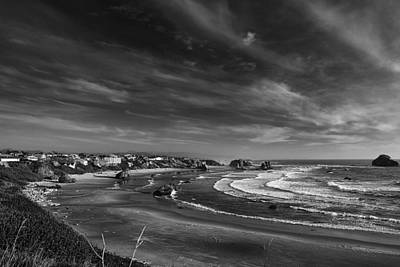 Fine Art Photograph - View Over Bandon by Andrew Soundarajan