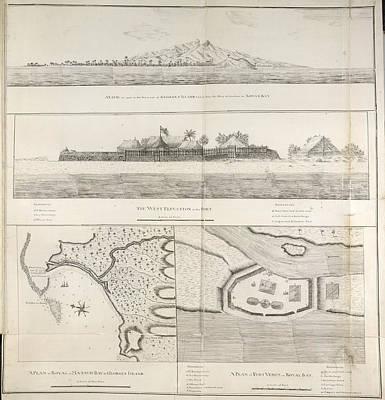 Views And Plans Of Royal Bay Print by British Library