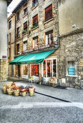 Southern France Photograph - Views Of Vienne France by Mel Steinhauer