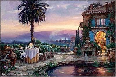 E 20 Painting - Villa Encantada by Cao Yong