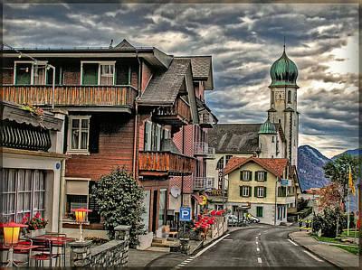 Village Image Print by Hanny Heim