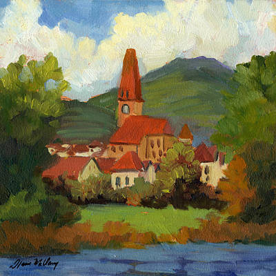Village On The Danube Original by Diane McClary