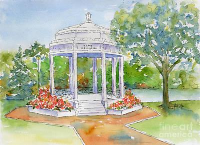 World War One Painting - Vimy Memorial by Pat Katz