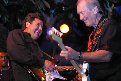 Vince Gill And James Burton Original by Don Olea
