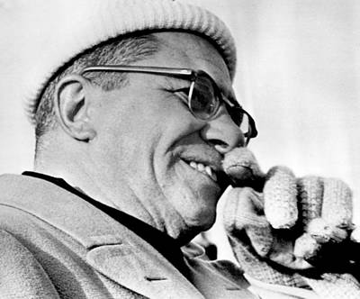 Vince Lombardi Close Up Print by Retro Images Archive