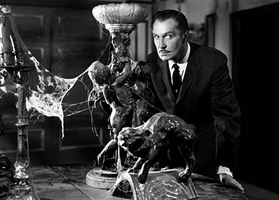Haunted House Photograph - Vincent Price by Mountain Dreams