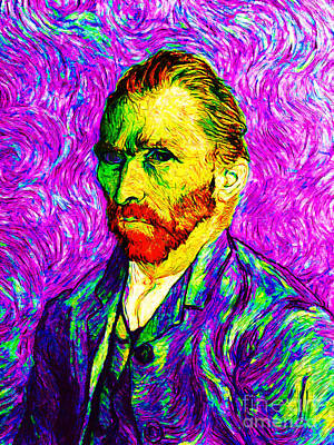 Vincent Revisited 20140118v2 Print by Wingsdomain Art and Photography
