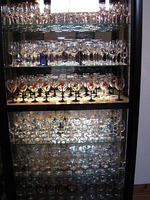 Bottles Photograph - Vineyards In Va - 121261 by DC Photographer