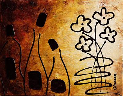 White Wine Painting - Vini Italiani Famosi by Carmen Guedez
