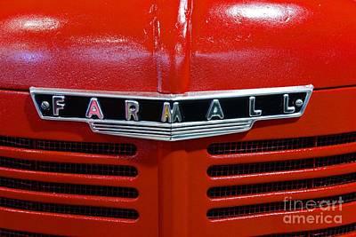 Vintage 1947 Farmall Tractor Print by Paul Ward