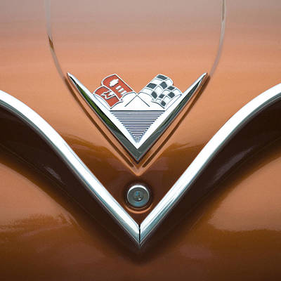 Antique Automobiles Photograph - Vintage 1960s Chevrolet Impala by Carol Leigh
