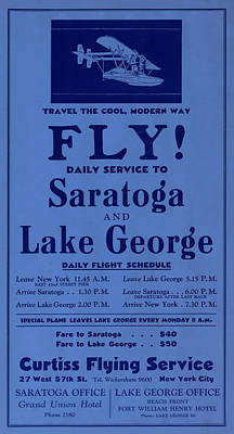 Vintage Airline Ad 1929 Print by Andrew Fare