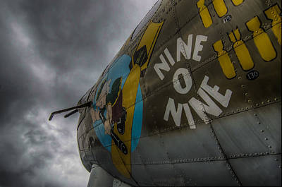 Noseart Photograph - Vintage B17 Nose Art by Puget  Exposure