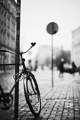 Vintage Bicycle Original by Vital Pica