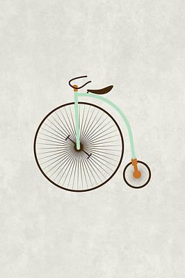Vintage Bike Original by Sara Habecker