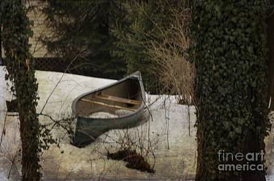 Brinton Photograph - Vintage Boat by Judy Wolinsky