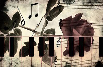 Trombone Mixed Media - Vintage But Modern by Georgiana Romanovna